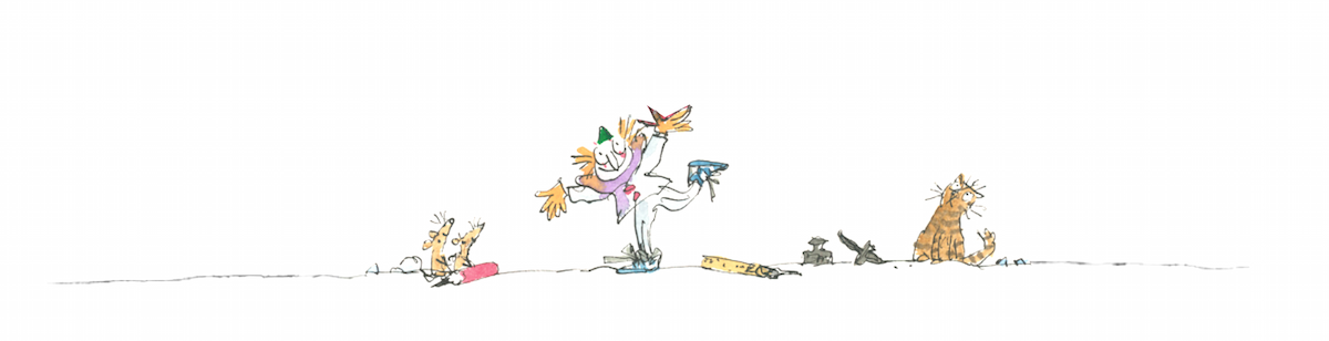 Quentin Blake Footer